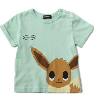 クレードスコープ(kladskap)の新品 クレードスコープ ポケモンコラボ イーブイTシャツ 90(Tシャツ/カットソー)