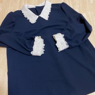 Rirandture - リランドチュール 刺繍 襟 袖 ブラウズ