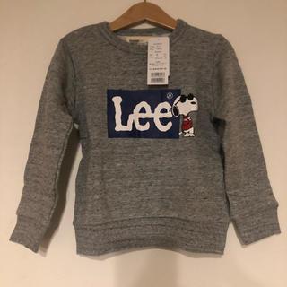 リー(Lee)の【新品】Lee ストンプスタンプ トレーナー 110(Tシャツ/カットソー)