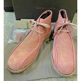 ボッテガヴェネタ(Bottega Veneta)の☆美品☆ ボッテガヴェネタ スエードシューズ(ブーツ)