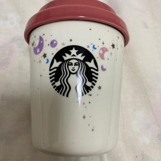スターバックスコーヒー(Starbucks Coffee)のスタバ ホリデー2019キャニスターリボンリッド(小物入れ)