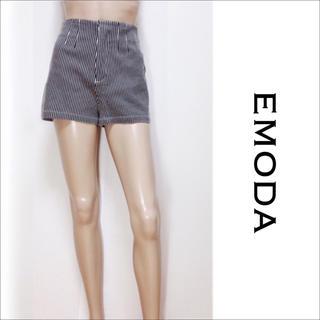 EMODA - EMODA ストライプ ショートパンツ♡ムルーア エゴイスト GYDA
