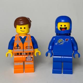 Lego - LEGO レゴムービー2 ミニフィグ エメット ベニーB 2体セット