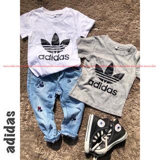 adidas - adidas アディダス オリジナルス ロゴ Tシャツ パロディ 90 セット