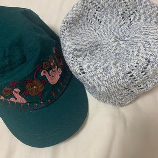 チチカカ(titicaca)の❗️3日間限定タイムセール中❗️チチカカキャップベレー帽2点セット(ハンチング/ベレー帽)