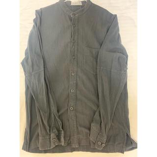 イッセイミヤケ(ISSEY MIYAKE)のノーカラーシャツ(シャツ)