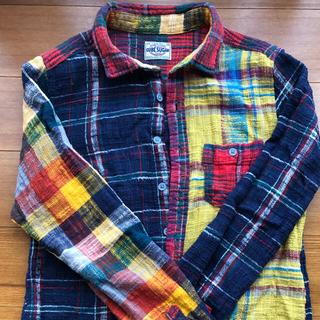 CUBE SUGAR - レディース キューブシュガー Mサイズ チェックシャツ 長袖
