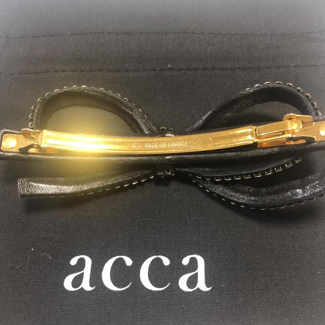 acca(アッカ)のうずら様専用になります。 レディースのヘアアクセサリー(バレッタ/ヘアクリップ)の商品写真