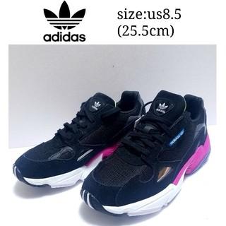 アディダス(adidas)の値下げ 未使用 adidas アディダス ファルコン 25.5cm 春 コーデ(スニーカー)