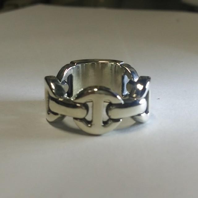 LONE ONES(ロンワンズ)のHOOSENBUHS BRUTE CLASSIC TRI-LINK RING メンズのアクセサリー(リング(指輪))の商品写真