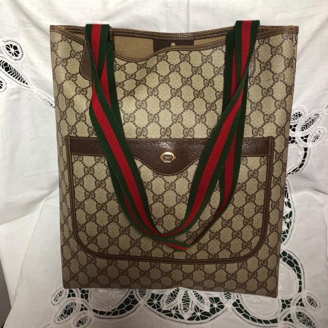 時計 カラトラバ スーパー コピー 、 Gucci - オールドグッチ シェリーライン 美品トートバッグの通販