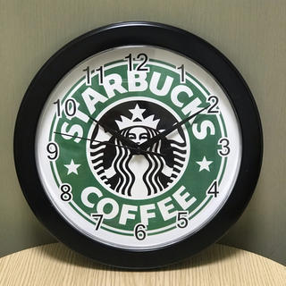 スターバックスコーヒー(Starbucks Coffee)のスタバ・壁掛時計(掛時計/柱時計)