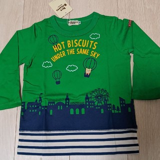 HOT BISCUITS - ☆新品タグ付き☆ ホットビスケッツ 長袖 Tシャツ ロンT 100