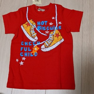 HOT BISCUITS - ☆新品タグ付き☆ ホットビスケッツ 半袖 Tシャツ 100