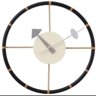 イームズ(EAMES)のステアリングクロック 時計 ネルソンロック ジョージネルソン(掛時計/柱時計)