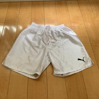 プーマ(PUMA)のプーマ サッカー練習着 白パンツ 150(その他)