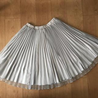 プールスタジオ(pool studio)のプリーツスカート(ひざ丈スカート)