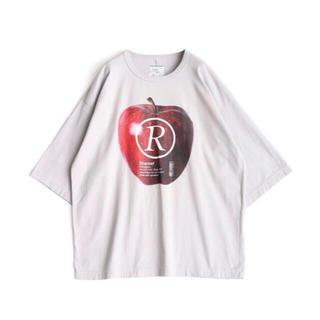 """シャリーフ(SHAREEF)の【人気完売品】shareef """"APPLE R""""  S/S BIG-T(Tシャツ/カットソー(半袖/袖なし))"""