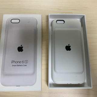 Apple - Apple 純正 iPhone 6s Smart Battery Case 白