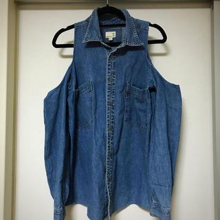 リーバイス(Levi's)の肩開きシャツ(Gジャン/デニムジャケット)
