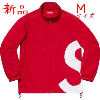 Supreme - Supreme シュプリーム S Logo Sロゴ トラック ジャケット 赤 M