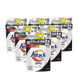 カオウ(花王)のアタックZERO 洗濯洗剤 ドラム式専用 超特大サイズ (1280g*6コ入)(洗剤/柔軟剤)