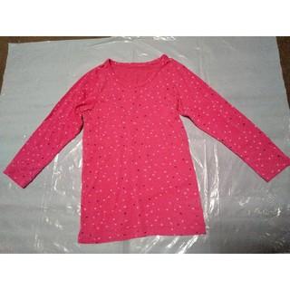 GU - 中古 110 GU 長袖肌着 ピンク