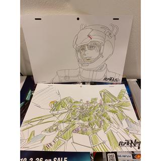 バンダイ(BANDAI)の機動戦士ガンダ厶NT 劇場版入場者特典 複製原画(ノベルティグッズ)