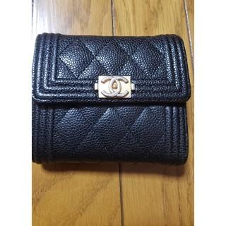 CHANEL - 💎♥️週末セール💎♥️💎CHANEL正規品♥️折りたたみ財布
