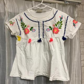 ZARA KIDS - ZARA Baby  花柄 刺繍 トップス