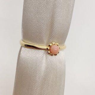 約14号 リング4[サンゴ色ピンク](リング(指輪))