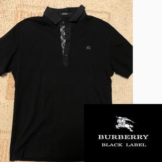 バーバリーブラックレーベル(BURBERRY BLACK LABEL)のバーバリー ブラックレーベルポロシャツ 美品 価格交渉OK(ポロシャツ)
