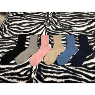 シャルレ - シャルレ レギュラーソックス 6足入 選べるカラー★ HE024 新品 快適靴下