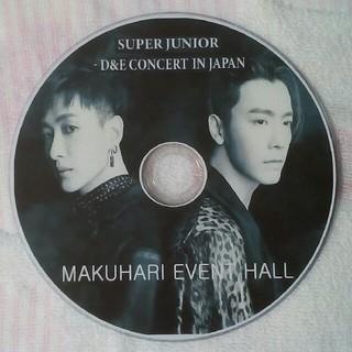 スーパージュニア(SUPER JUNIOR)のSUPER JUNIOR D&E CONCERT IN JAPAN DVD(ミュージック)