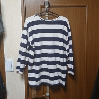 ウエアハウス(WAREHOUSE)のウエアハウス 七分丈 ボーダー(Tシャツ/カットソー(七分/長袖))