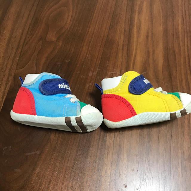 mikihouse(ミキハウス)のミキハウス 12センチ キッズ/ベビー/マタニティのベビー靴/シューズ(~14cm)(スニーカー)の商品写真