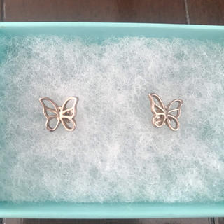 Tiffany & Co. - Tiffany ティファニー バタフライ ピアス