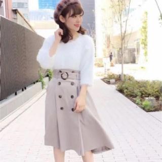dazzlin - ダズリン トレンチ風スカート ベルト付き