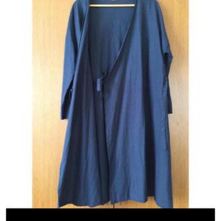 ネストローブ(nest Robe)の新品鎌倉スワニーコットンリネンカシュクールワンピース(ロングワンピース/マキシワンピース)