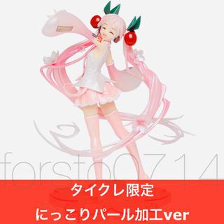 TAITO - 桜ミク 描き下ろし フィギュア タイクレ限定 パール加工 にっこり