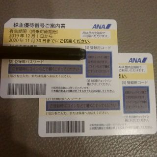 ANA(全日本空輸) - ANA 株主優待(2枚セット)