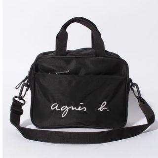 agnes b. - 【最安値】アニエスベーサコッシュ ロゴ2wayショルダー通園バッグ ショルダー