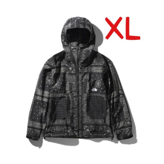 THE NORTH FACE(ザノースフェイス)のThe North Face ノベルティコンパクトジャケット バンダナ XL メンズのジャケット/アウター(ナイロンジャケット)の商品写真