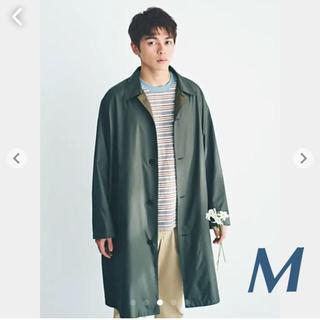 UNIQLO - ユニクロ ポケッタブルステンカラーコート Mグリーン完売