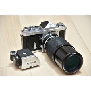 ニコン(Nikon)のNikon F アイレベル シルバー 724万番台、レンズ他(フィルムカメラ)