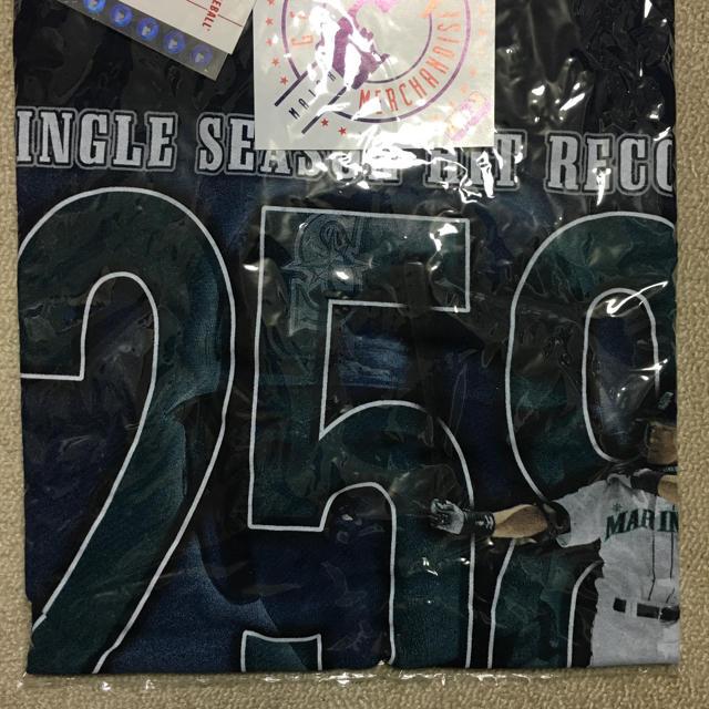 イチロー 258安打記念 Tシャツ Lサイズ スポーツ/アウトドアの野球(記念品/関連グッズ)の商品写真
