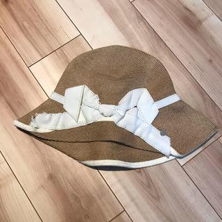 バーニーズニューヨーク(BARNEYS NEW YORK)の麦わら帽子 アシーナニューヨーク UV 帽子(麦わら帽子/ストローハット)