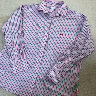 Avail - アベイル avail オーバーサイズシャツ ストライプ stooge