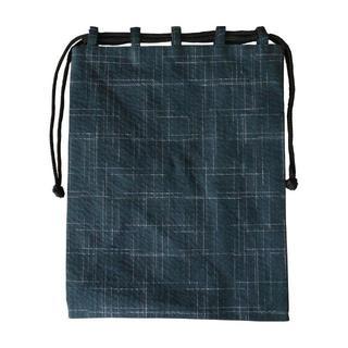 新品送料込み 男性用 信玄袋 巾着 小物入れ きんちゃく SBM016(その他)