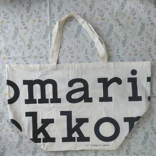 marimekko - マリメッコ バッグ marimekko ビッグ トートバッグ 非売品 ノベルティ